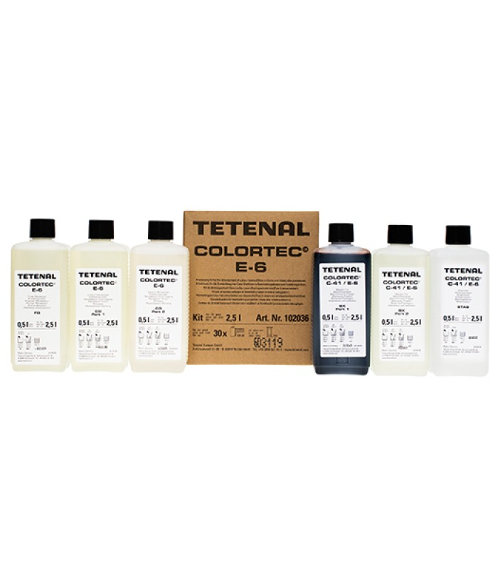 Tetenal Colortec E-6 kit za 2,5L
